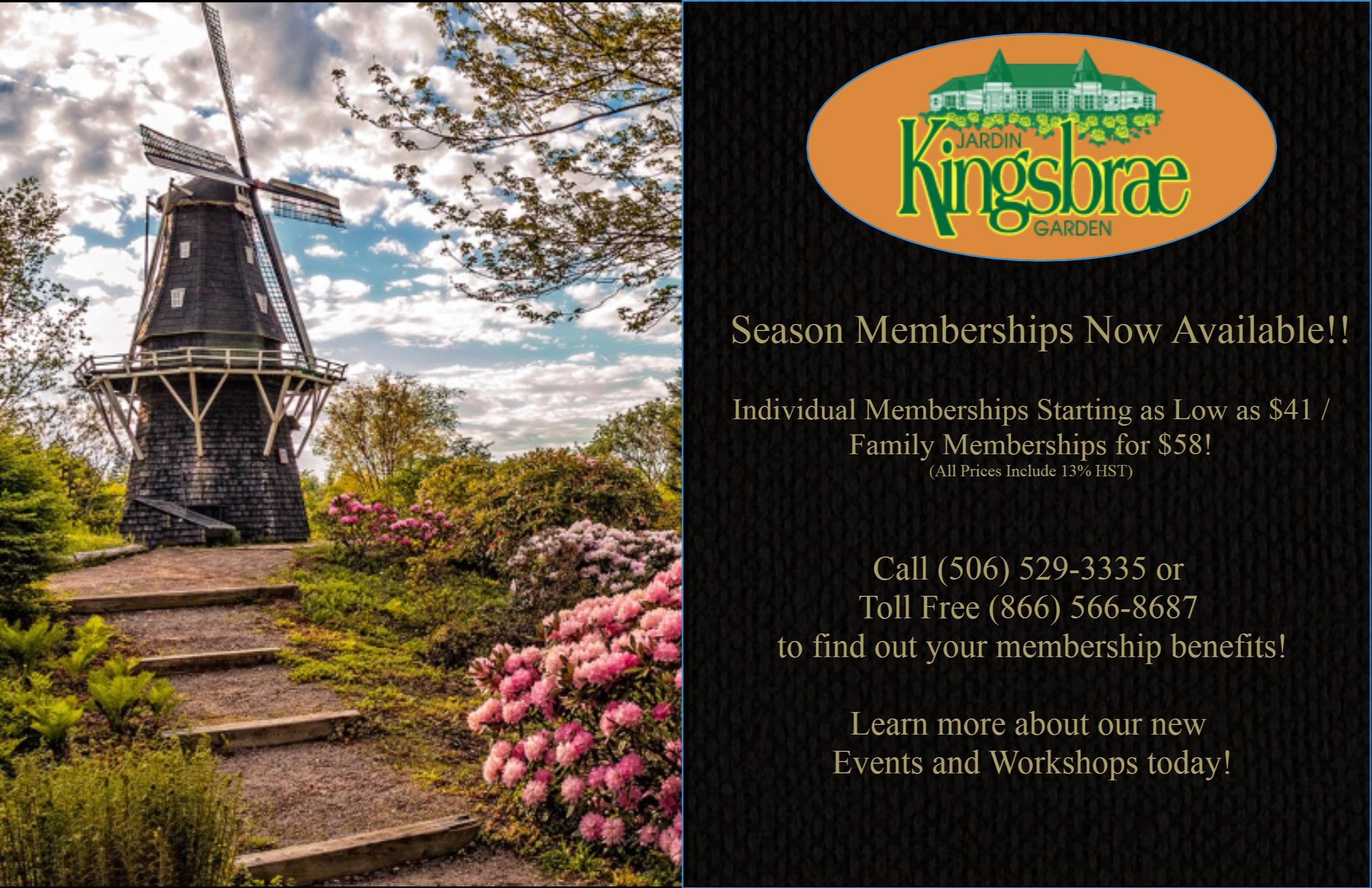 2015 Season Membership Ad
