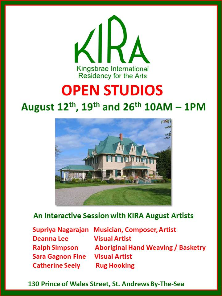 KIRA Open Studios August