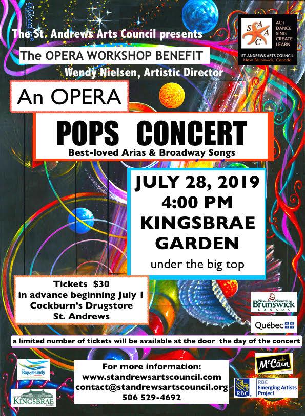 Upcoming Events – Opera Pops Concert – Kingsbrae Garden